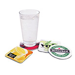 Promotional SipGrip Coaster with Bulk Round