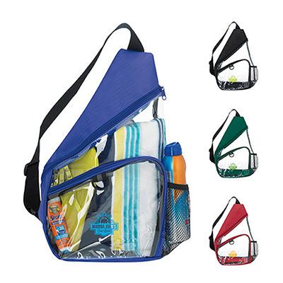 clear slingpack
