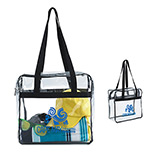 23265 - Clear Zippered Tote
