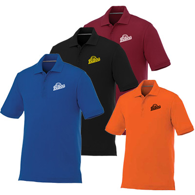 Custom Mens Crandall Short Sleeve Polo