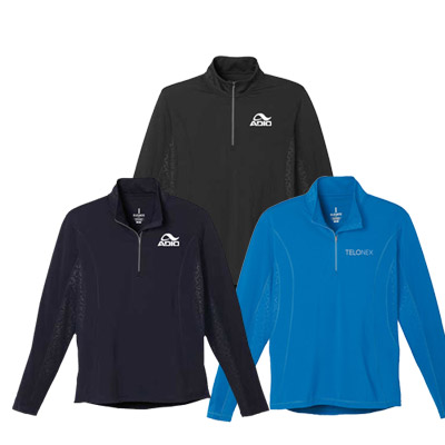 mens caltech knit quarter zip