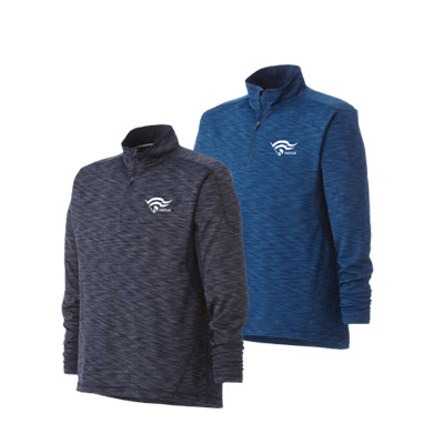 Bulk Mens Yerba Knit Quarter Zip