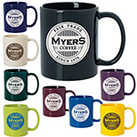 23330 - 11 oz. Colored Budget Mug