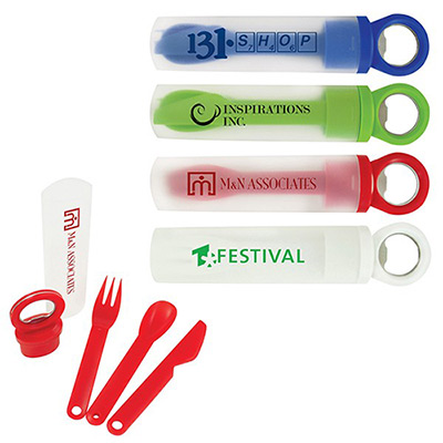 grab lunch utensil set