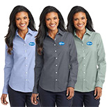 23379 - Port Authority® Ladies SuperPro™ Oxford Shirt