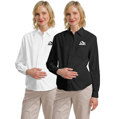 Port Authority® Maternity Long Sleeve Easy Care Shirt