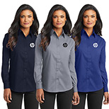 23388 - Port Authority® Ladies Long Sleeve Value Poplin Shirt