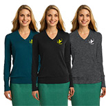 Promotional Port Authority Ladies V-Neck Sweater