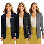 23399 - Port Authority - Ladies Open Front Cardigans