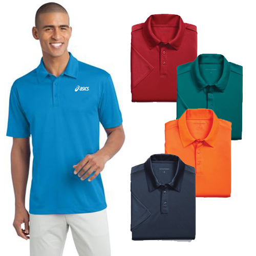 Imprinted Silk Touch Performance Polo