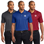 Promotional Fine Jacquard Polo Shirts