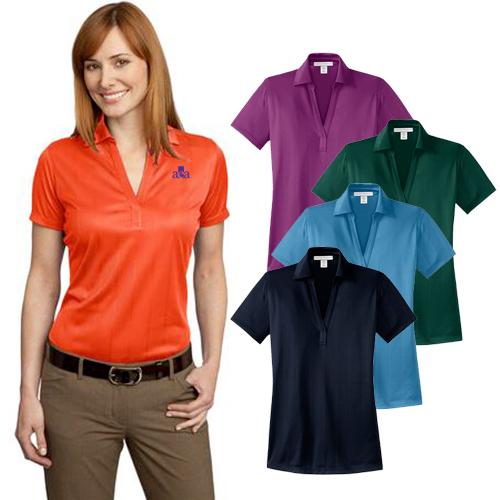 Promotional Port Authority Ladies Fine Jacquard Polo