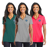 Custom Port Authority Ladies Cotton Touch Performance Polo
