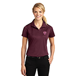 Sport Tek Ladies Micropique Sport Wick Polo maroon 23453