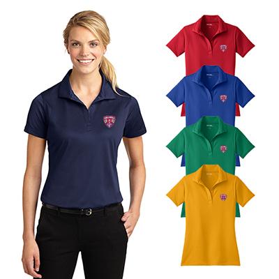 sport-tek® ladies micropique sport-wick® polo