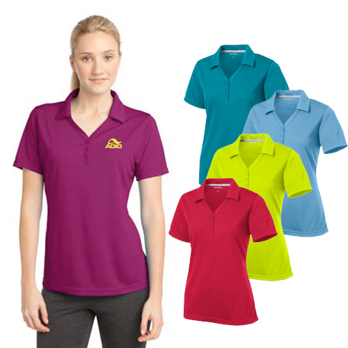 Custom Sport-Tek PosiCharge Micro-Mesh Polo for ladies