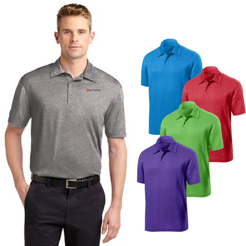 Promotional Sport-Tek Heather Contender Polo