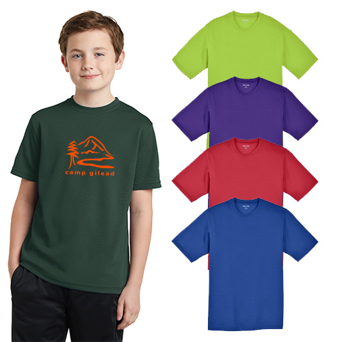 Sport-Tek® Youth PosiCharge® RacerMesh® Tee