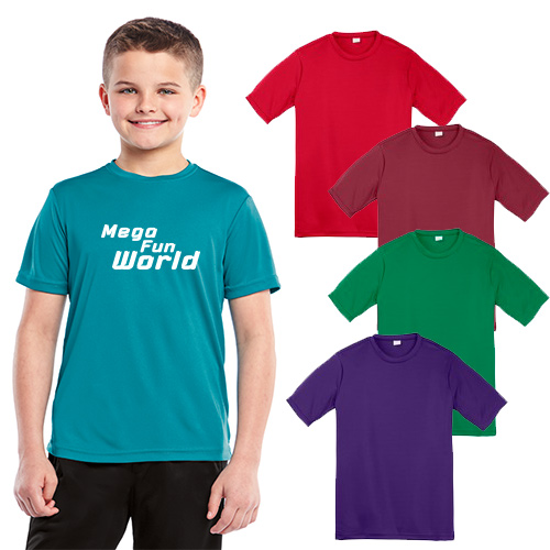 sport-tek® youth posicharge™ competitor™ tee