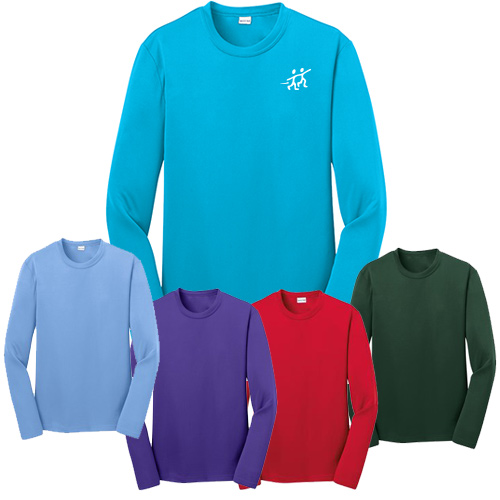 sport-tek® youth long sleeve competitor™ tee