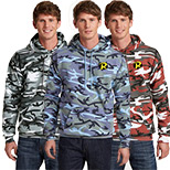 23531 - Port & Company® Camo Hooded Sweatshirt