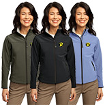 23547 - Port Authority® Ladies Glacier® Soft Shell Jacket