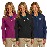 Custom Port Authority Ladies Core Soft Shell Jacket