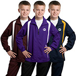 23568 - Sport-Tek® Youth Colorblock Raglan Jacket