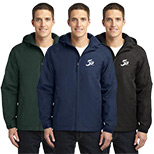 23570 - Port Authority® Hooded Charger Jacket