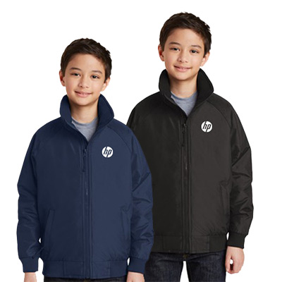 port authority® youth charger jacket