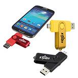 23588 - Dual Port USB Drive 16GB