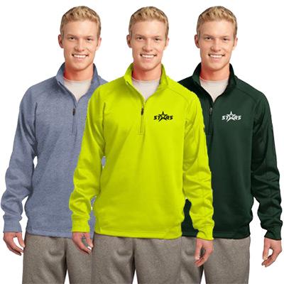 454a1cc2895 Brand custom Sport-Tek Tech Fleece 1 4-Zip Pullovers with your logo today!