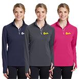 Promotional Textured 1/4-Zip Pullover