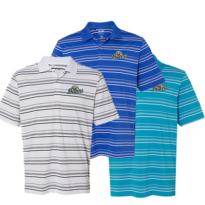 Adidas - Golf Puremotion Textured Stripe Polo