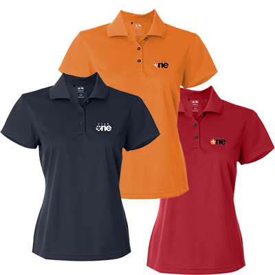 Adidas Golf Ladies ClimaLite® Pique Polo