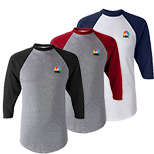 23679 - Three-Quarter Sleeve Baseball Jersey