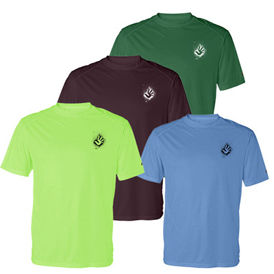 Badger B-Dry Core T-Shirt with Sport Shoulders