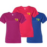 23683 - Badger Ladies' B-Dry Core V-Neck Tee