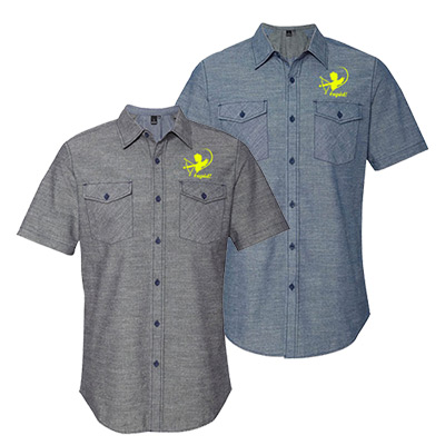 Burnside Chambray Short Sleeve Shirt
