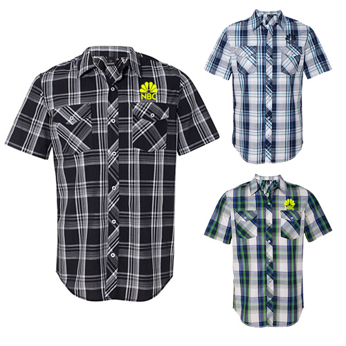 Burnside Plaid Short Sleeve Shirt