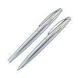 23744 - Cross® ATX Pure Chrome Pen Set