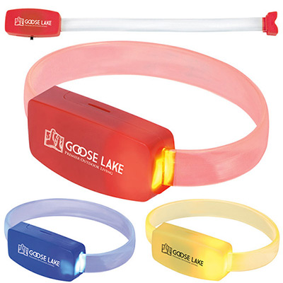 led running wrist band