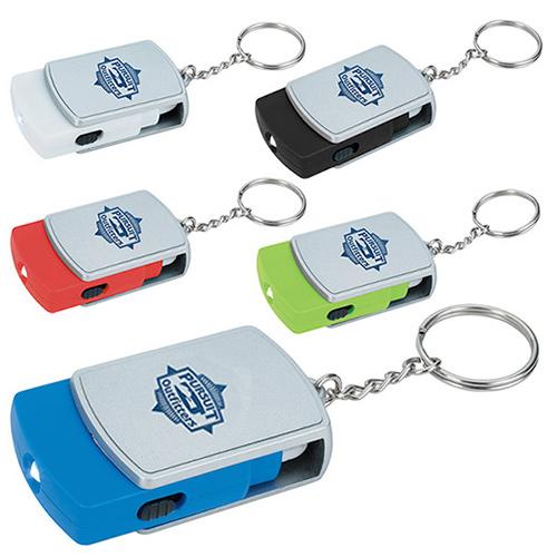 swivel tech keychain