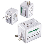 23966 - Quick Traveler - 2 USB Port Universal Travel Adapter