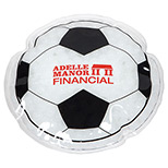 Logo Imprinted Soccer Ball Hot/Cold Pack