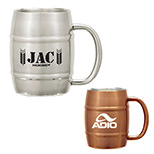 23992 - 14 oz. Moscow Mule Barrel Mug