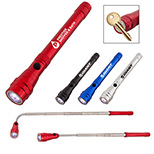 24012 - Telescopic Aluminum Flashlight with Magnet