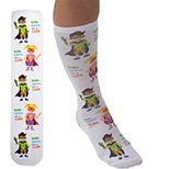 24023 - Full Color Unisex Tube Socks