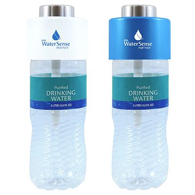 Personalized portable water bottle humidifier with USB cable