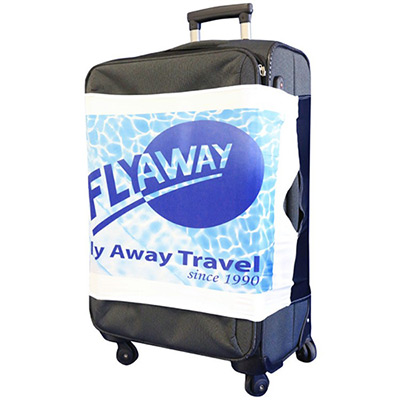 Full Color Stretch Luggage Wrap